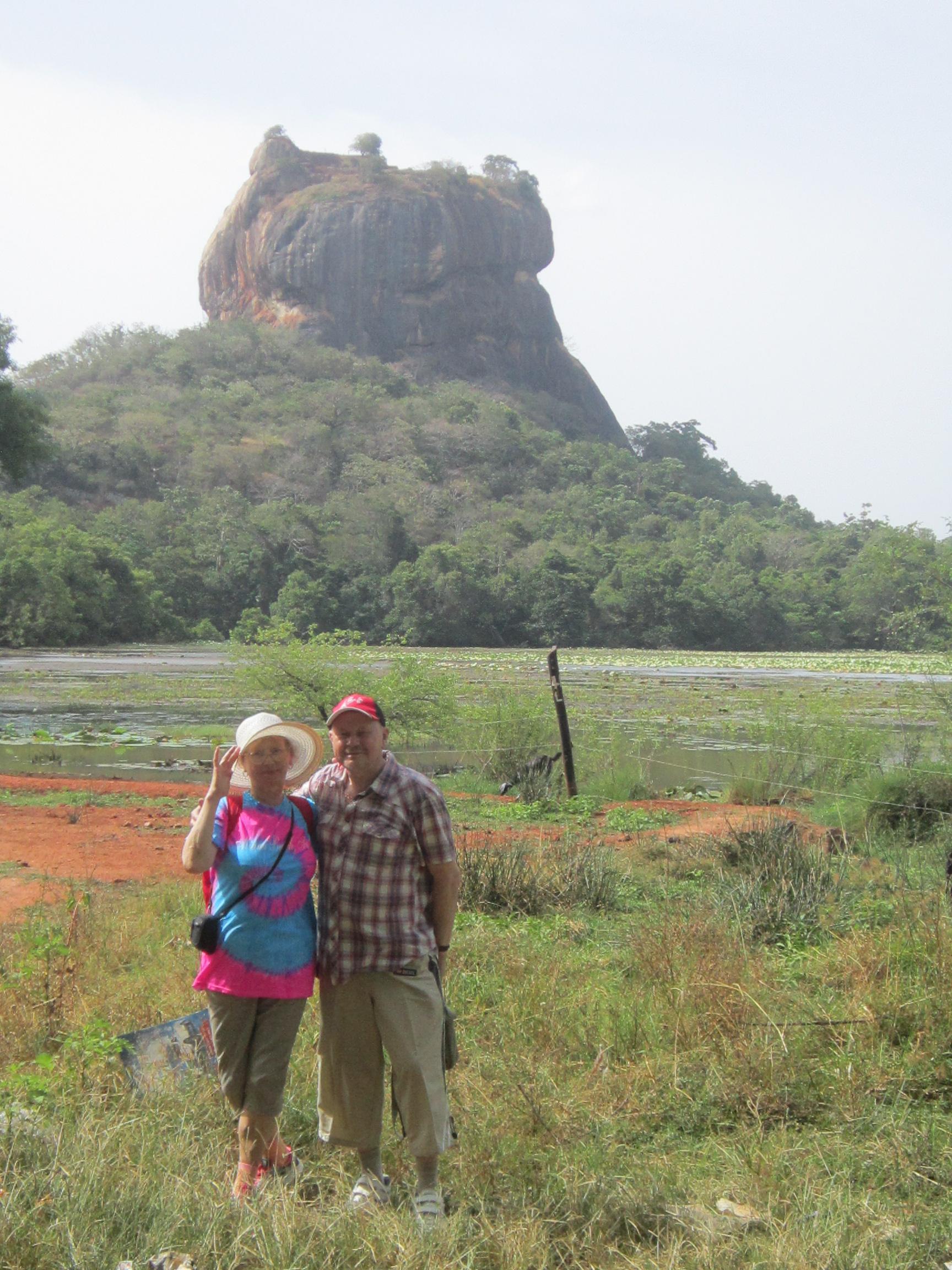 Сигирия - Львиная Гора на просторах Шри Ланки