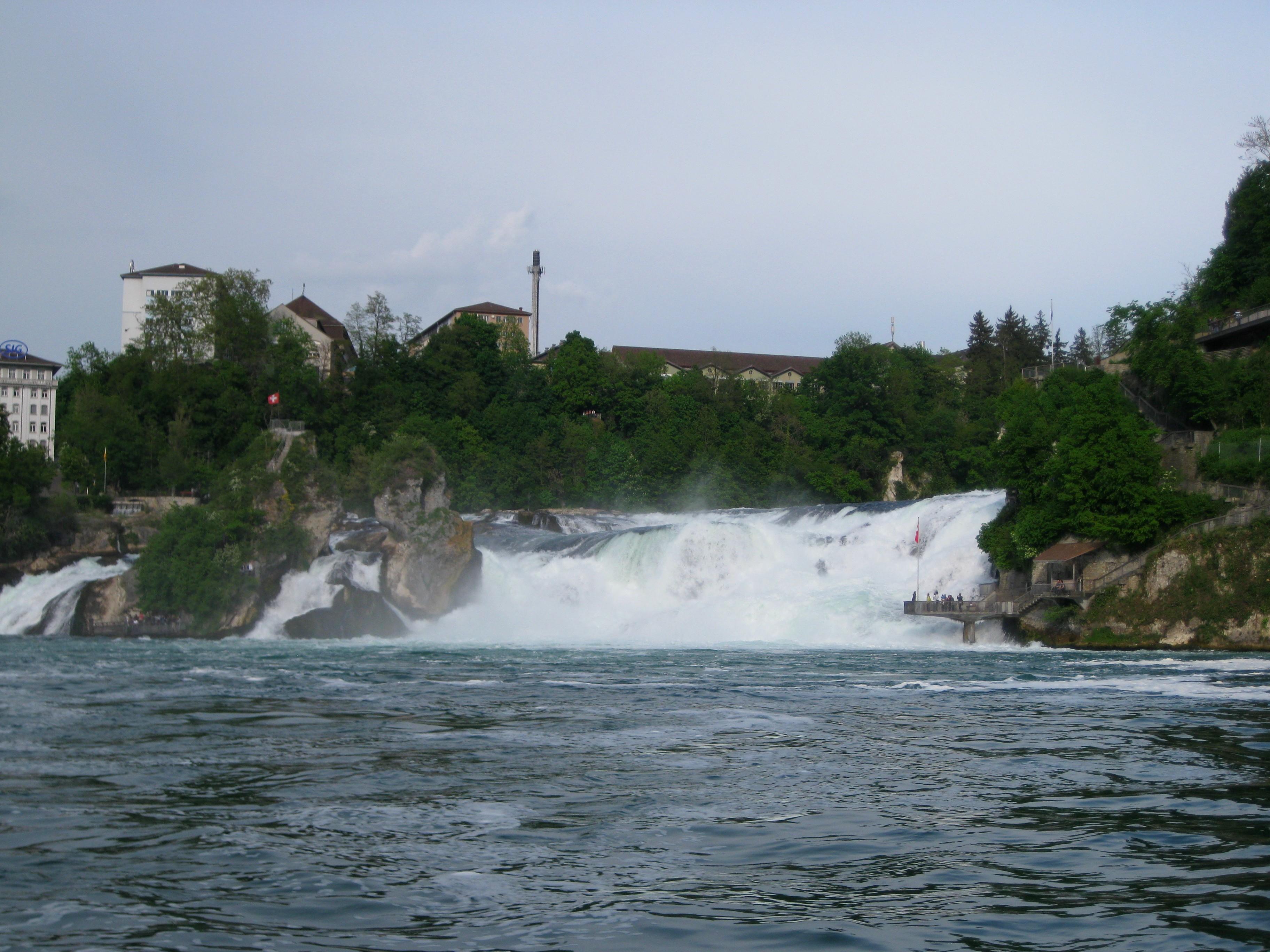 Рейнский водопад - Европейская Ниагара