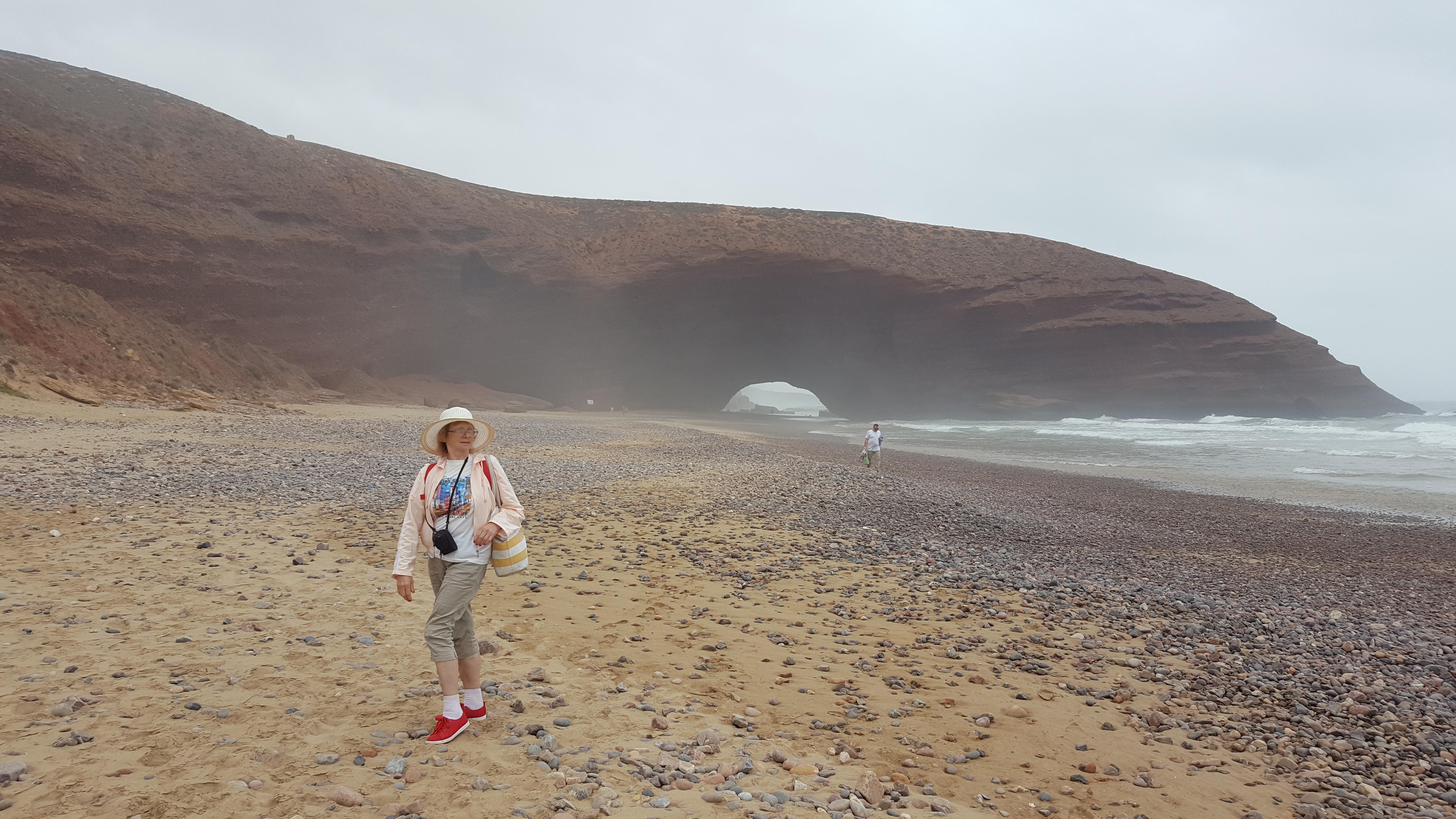 Легзира, Марокко. Пляж имеет пару километров в длину