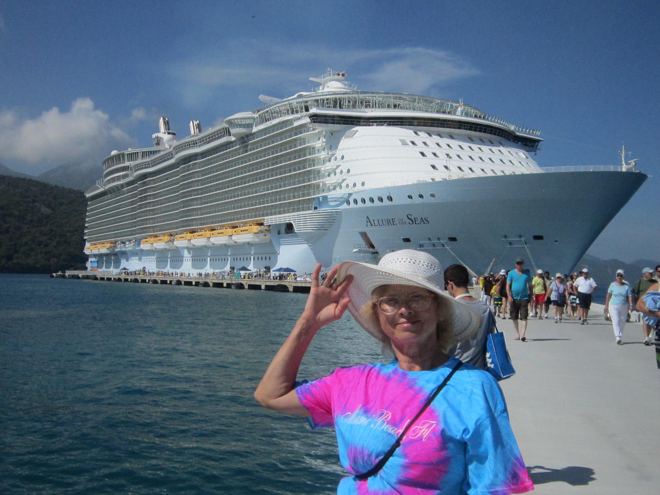 «Очарование морей» – самый большой корабль в мире