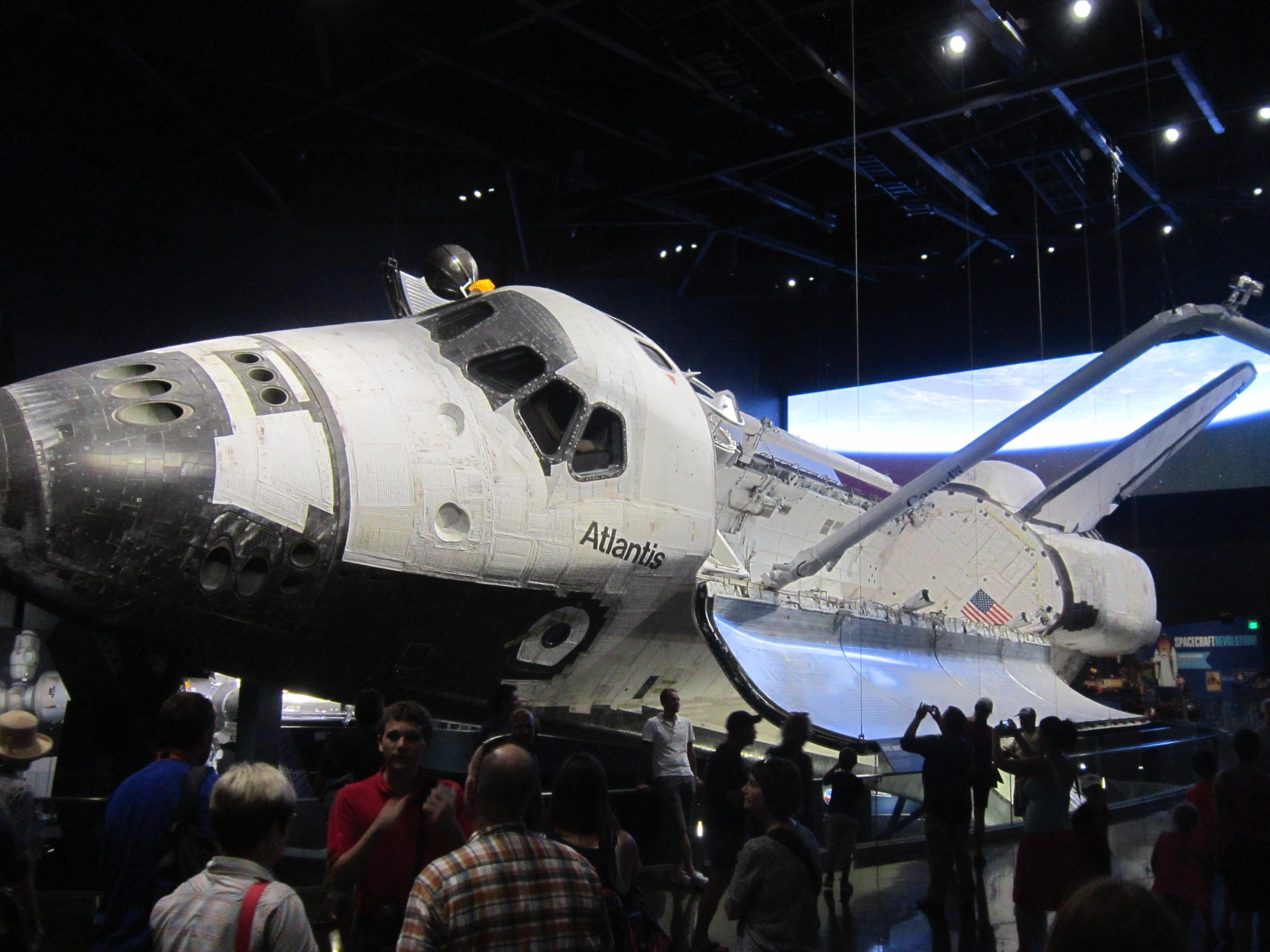 Шаттл Atlantis, летавший в космос 33 раза