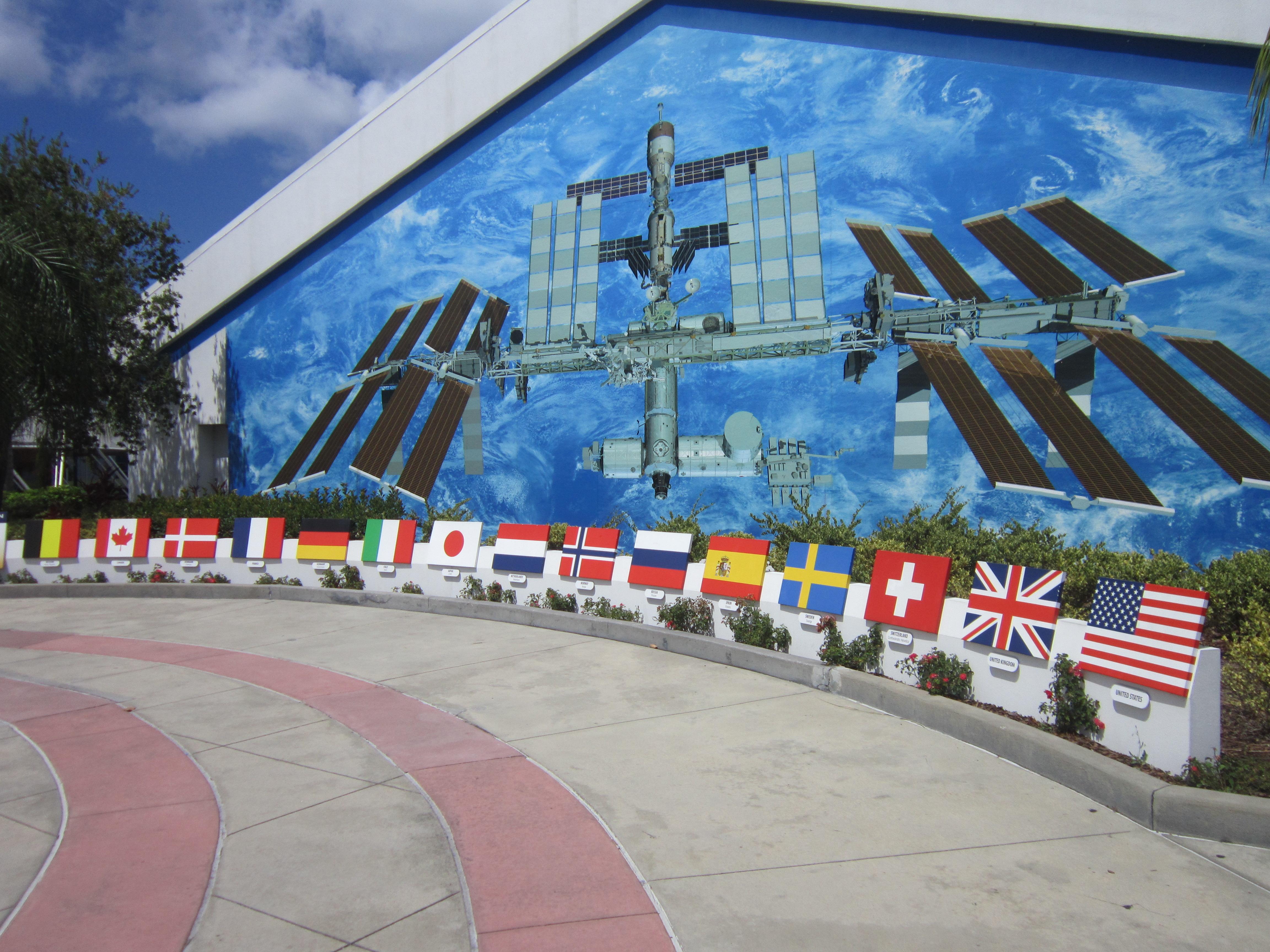 Флаги стран - участниц программы МКС