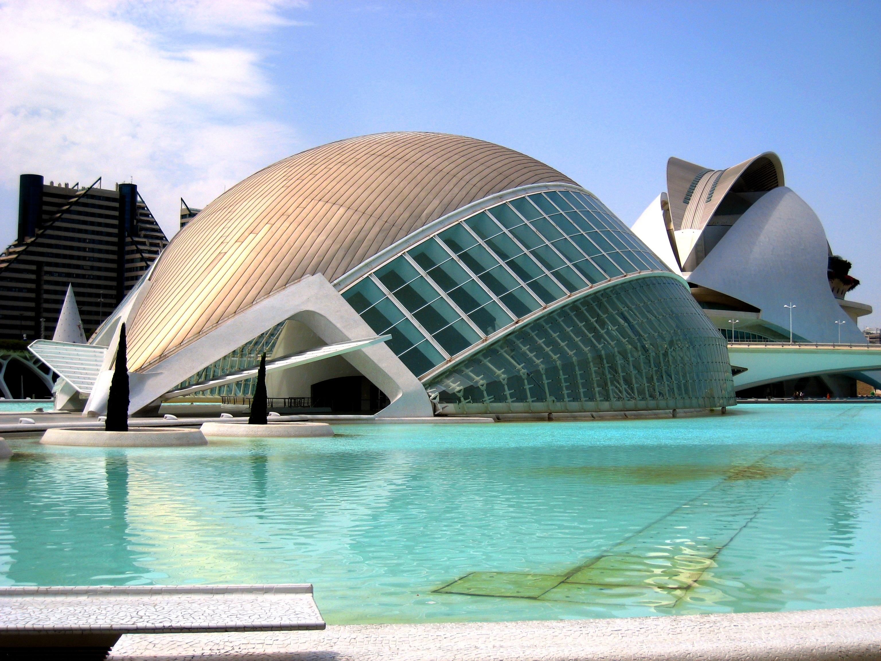Город наук и искусств в испанской Валенсии