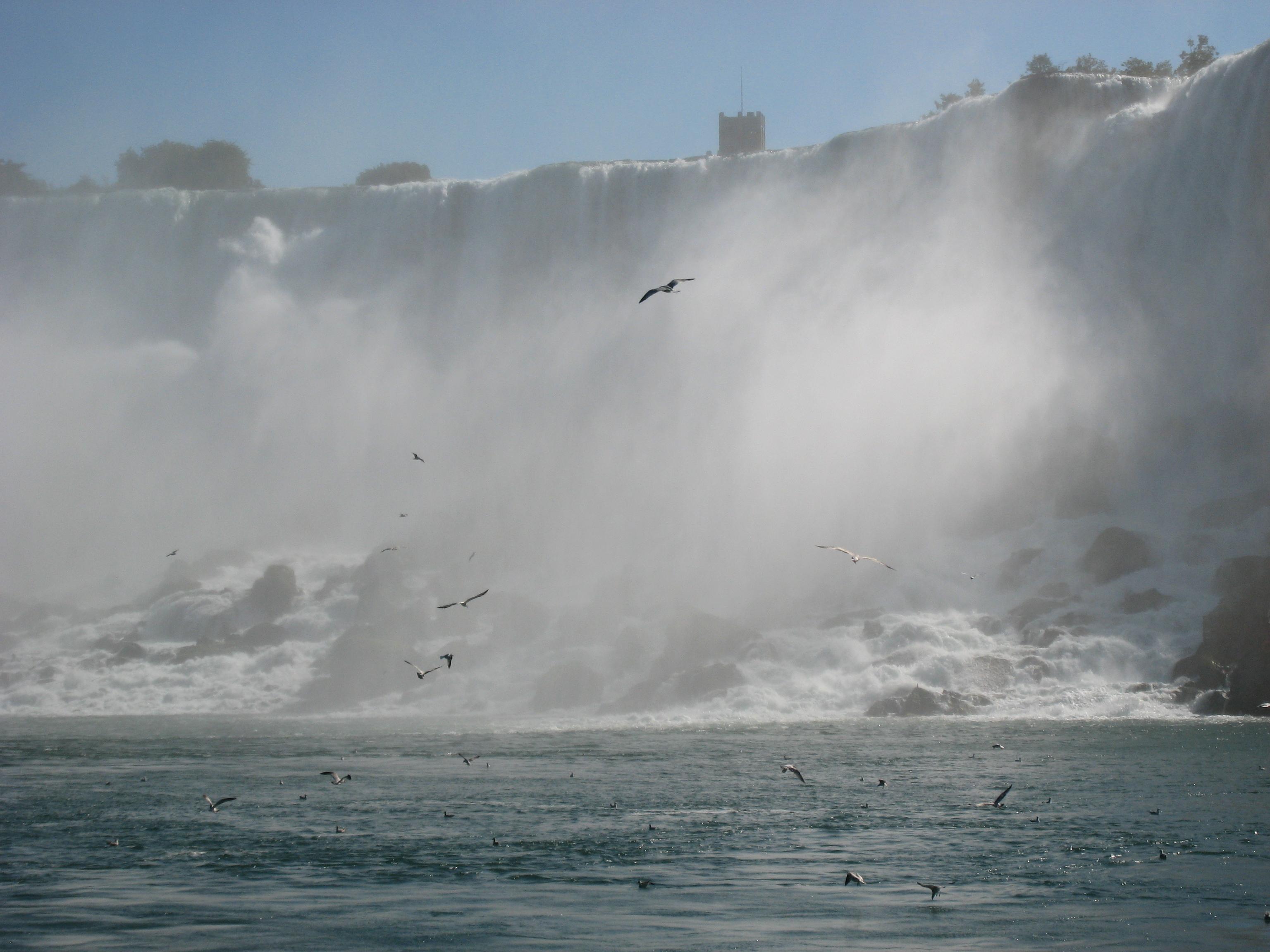 Ниагарский водопад - торжество стихии