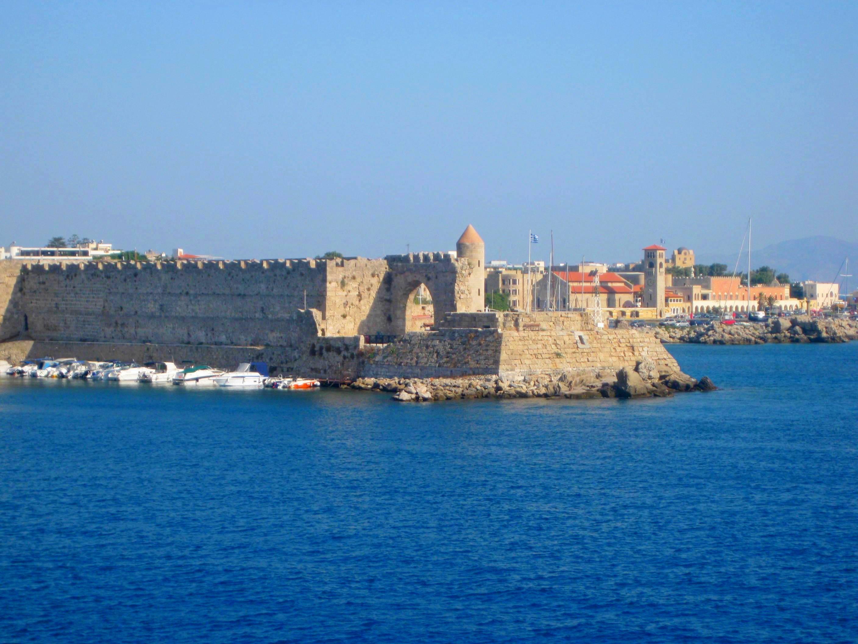 Город Родос - главный город острова