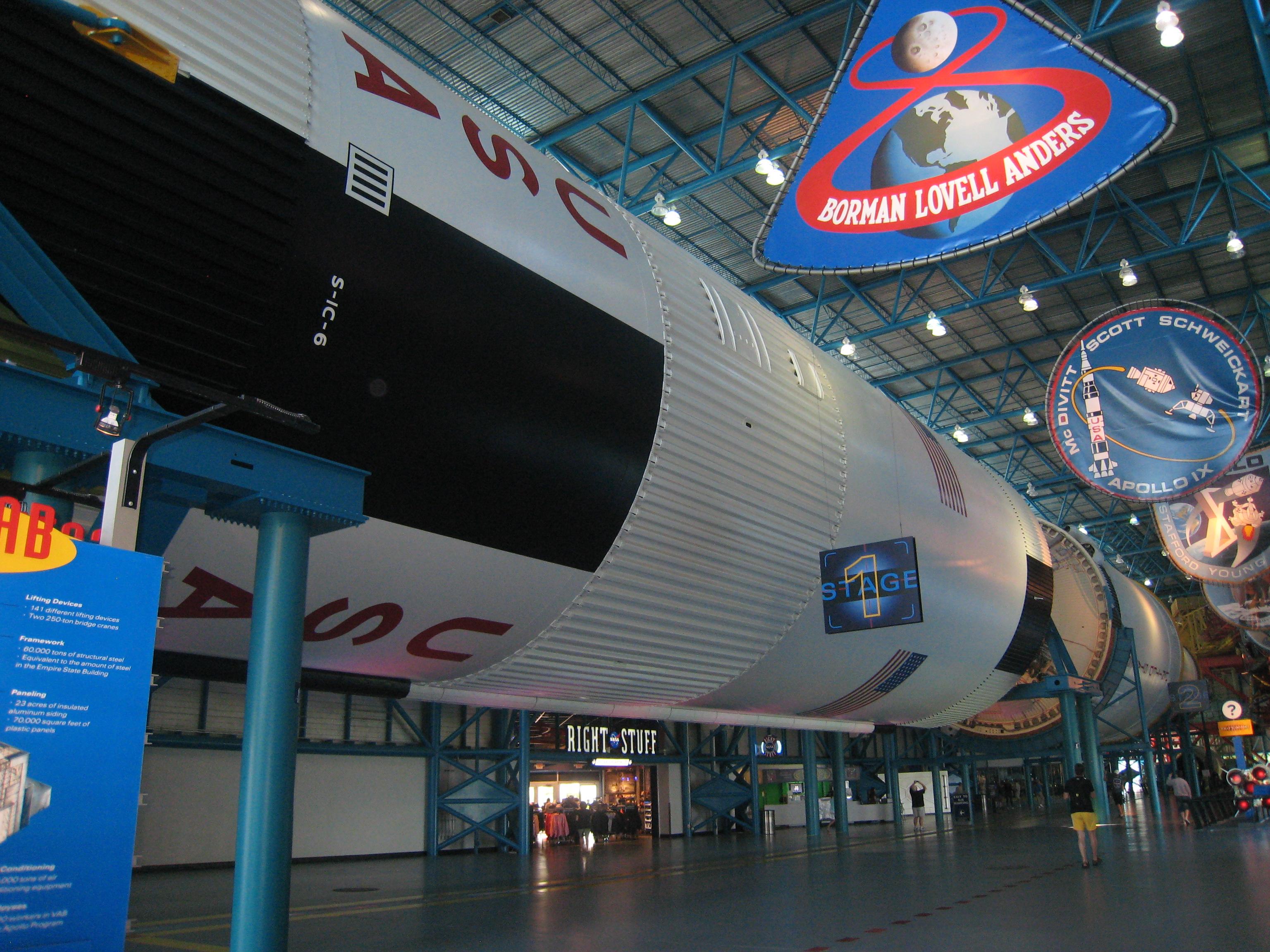 """Космическая ракета """"Аполлон"""" для полётов на Луну"""